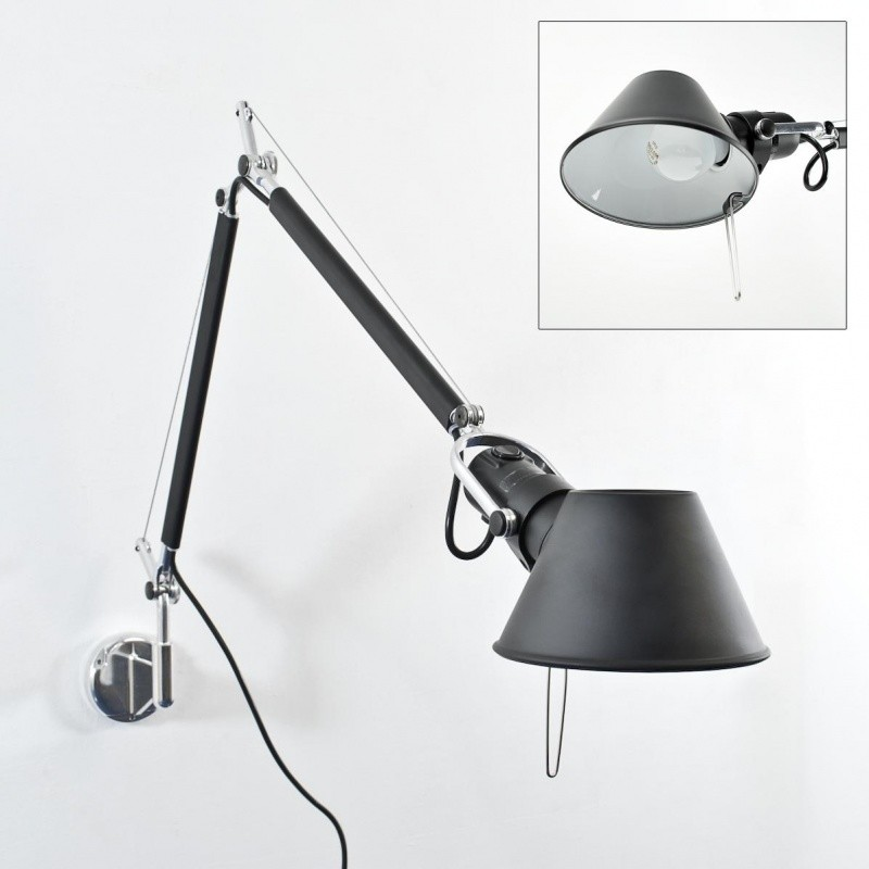 Wall Lamps Nz : Architects Wall Lamp - Long (Black)