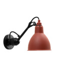 Hugo Wall Lamp Black Red Blue Yellow