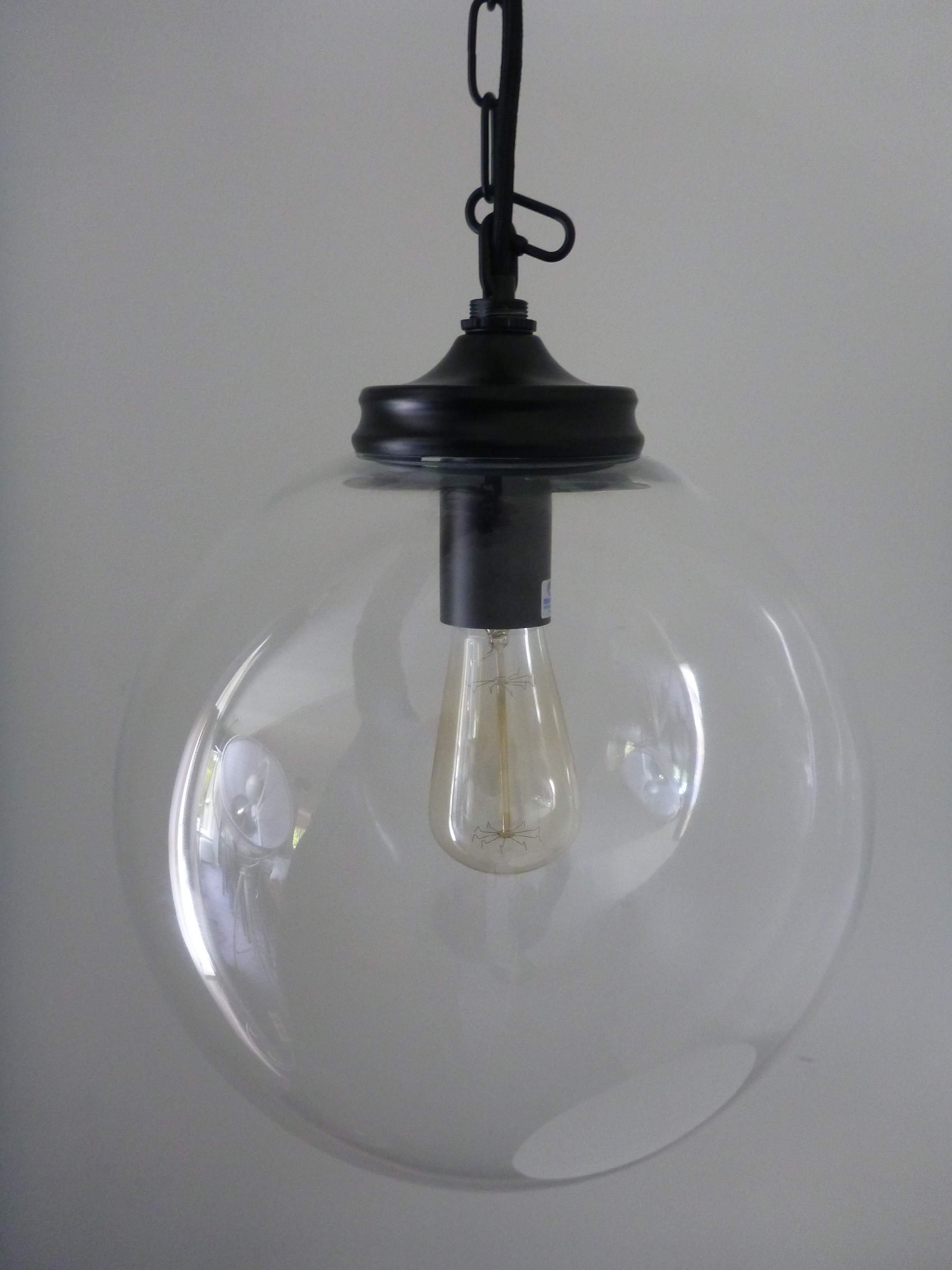 lights pendant simple lightclear bedroom clicking kitchen magnifying or ceilings appealing light clear ceiling fixtures glass pen vintage lighting